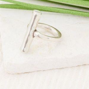 UNO DE 50 Cyclotella Textured Bar Ring